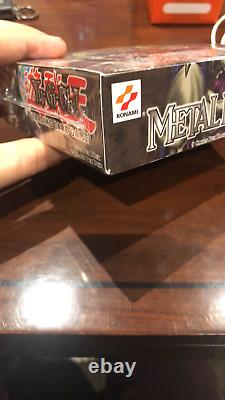 Yu-Gi-Oh! 2002 Metal Raiders Booster Box Factory Sealed 24 Packs