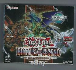 Yugioh Battles Of Legend Armageddon Booster Box Factory Sealed