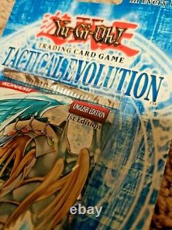 Yugioh Tactical Evolution 1st Edition Blister Pack Factory Sealed Fresh Box
