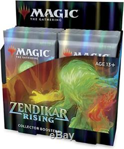 Zendikar Rising Collector Booster Box MTG Brand New Factory Sealed! 12 Packs