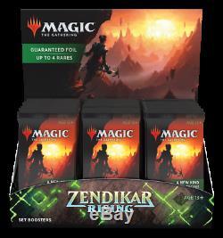 Zendikar Rising Set Booster Box 30 Packs Brand New and Factory Sealed! MTG